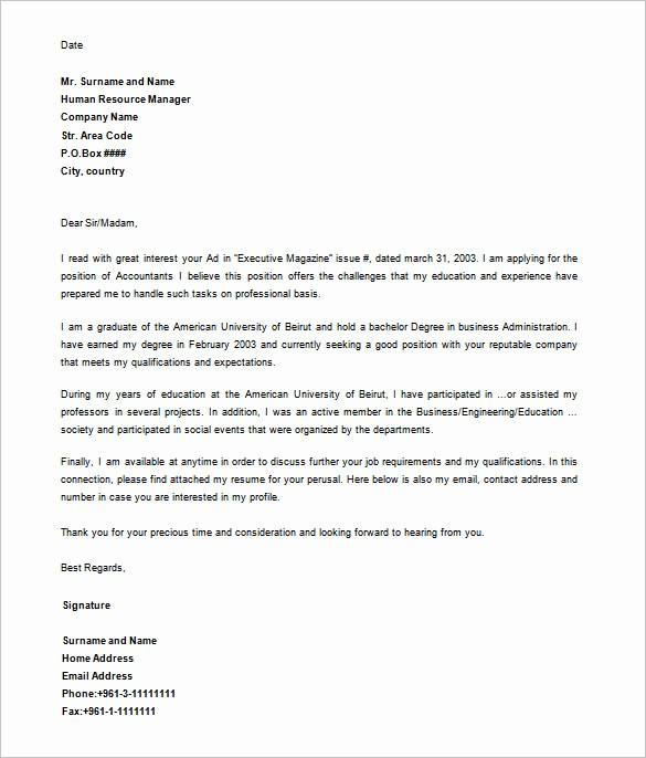 Formal Letter Template Microsoft Word Awesome Letter Templates – 30 Free Word Excel Pdf Psd format