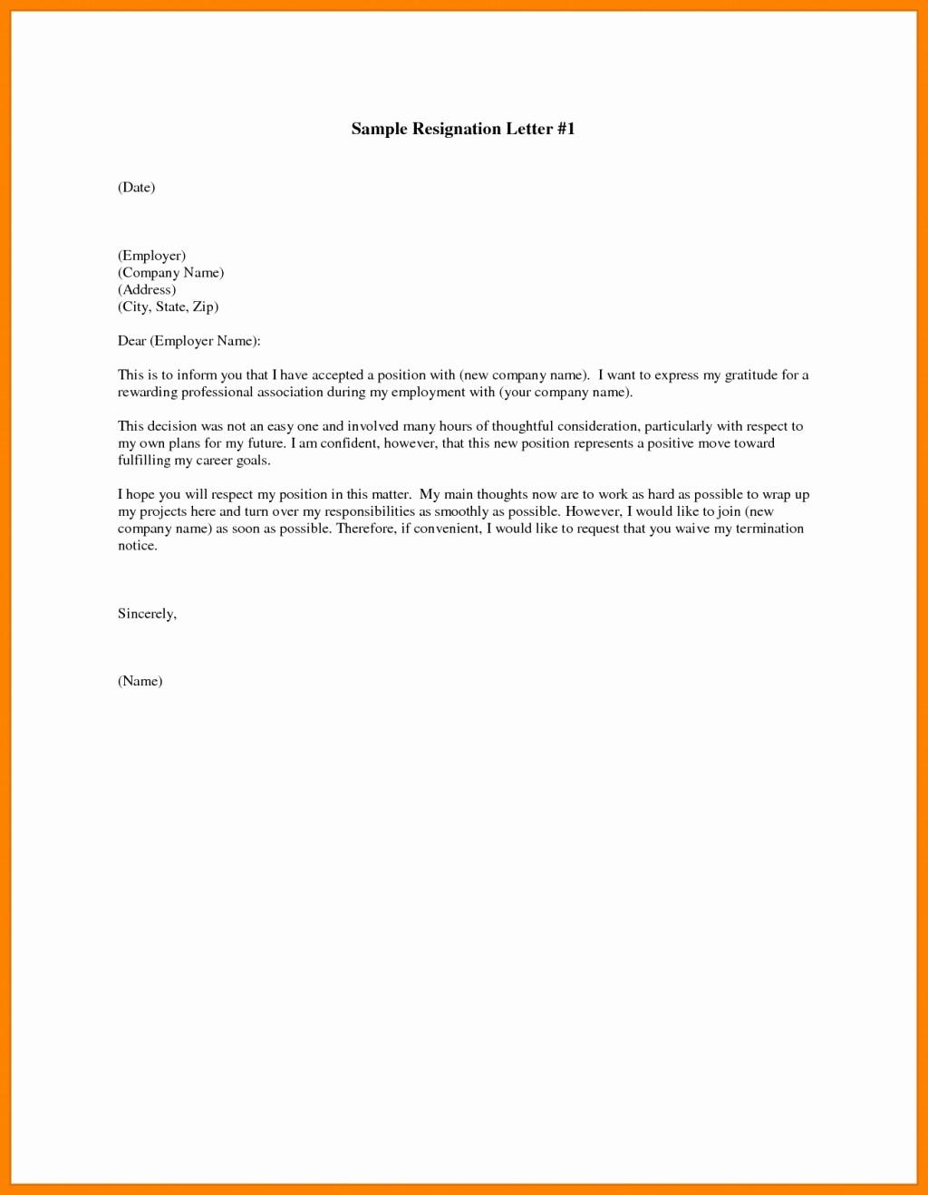 Formal Letter Template Microsoft Word Lovely Free Resignation Letter Template Microsoft Word Download