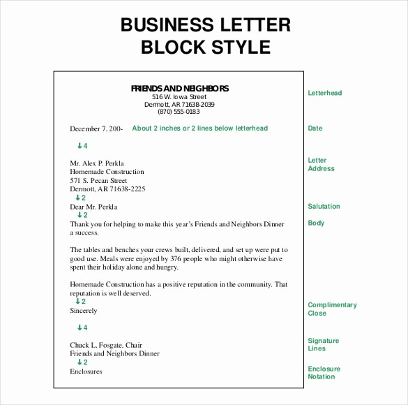 Formal Letter Template Microsoft Word New 50 Business Letter Templates Pdf Doc