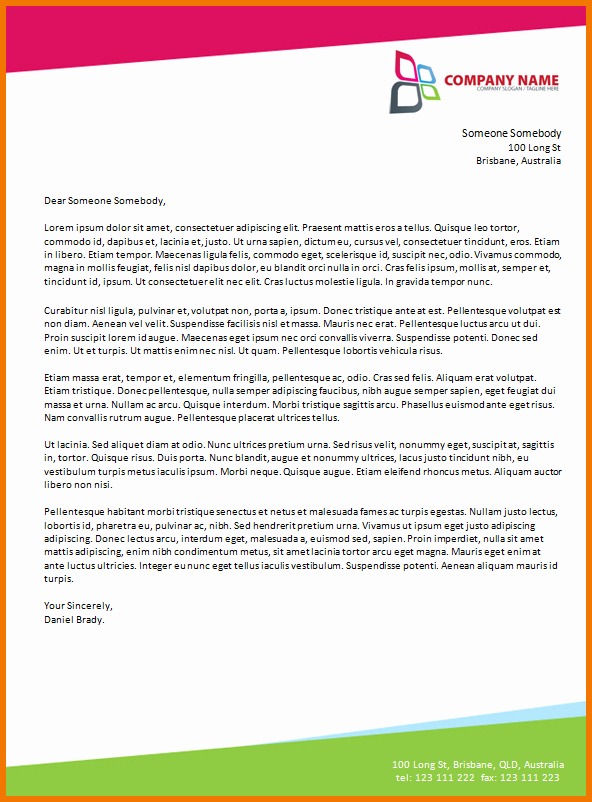 Formal Letter Template Microsoft Word New How to Make A Business Letter In Microsoft Word How to