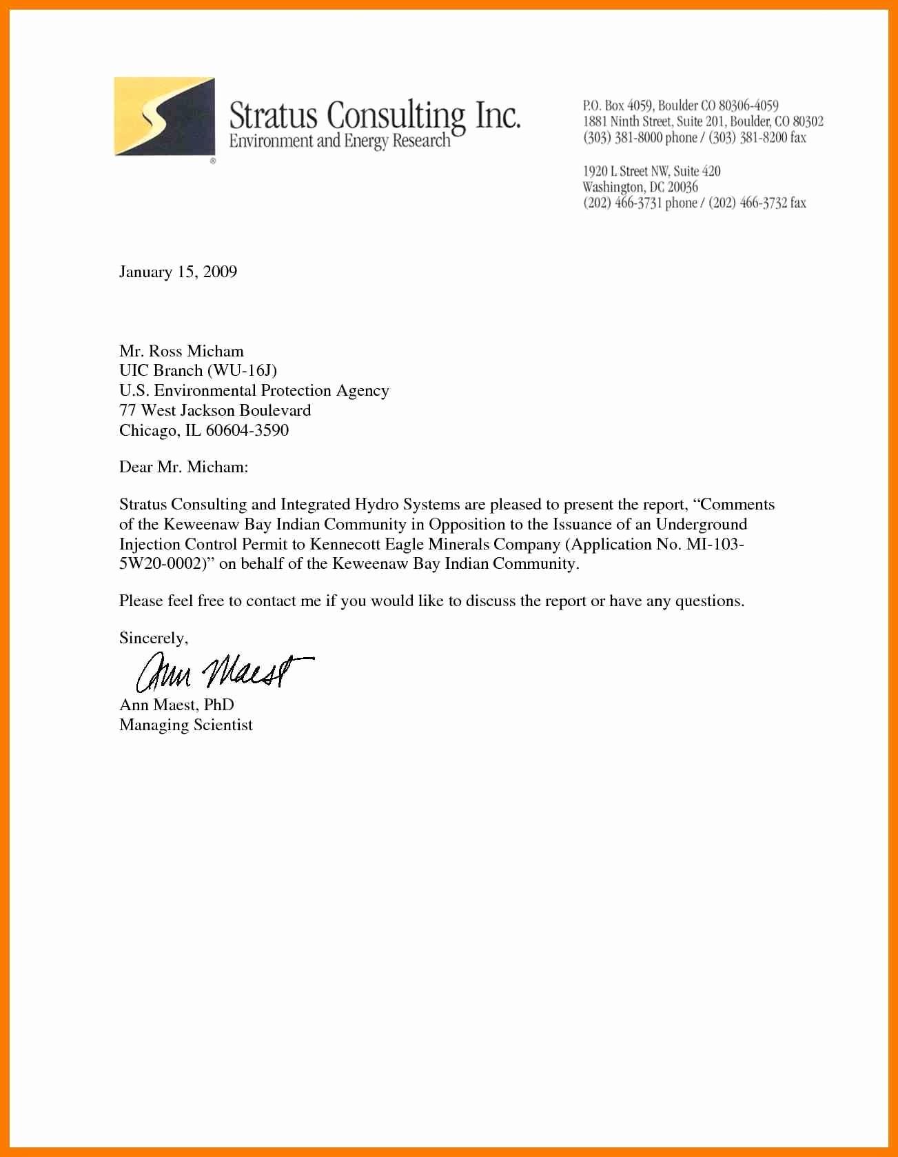 Format A Letter In Word Fresh 10 Official Letter Sample format