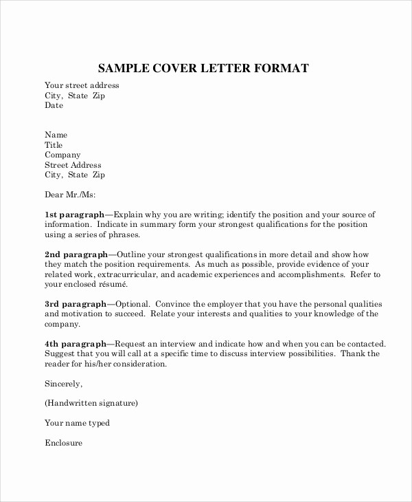 Format A Letter In Word Lovely Professional Business Letter format