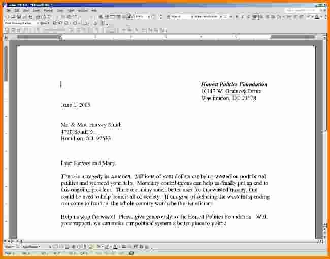 Format A Letter In Word Luxury 5 Business Letter format In Word