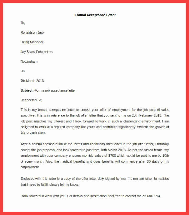 Format A Letter In Word New formal Letter Template Word