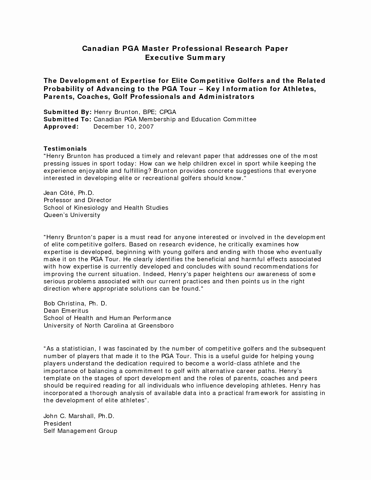 Format for An Executive Summary Awesome Best S Of Summary Paper Template Mla Summary format