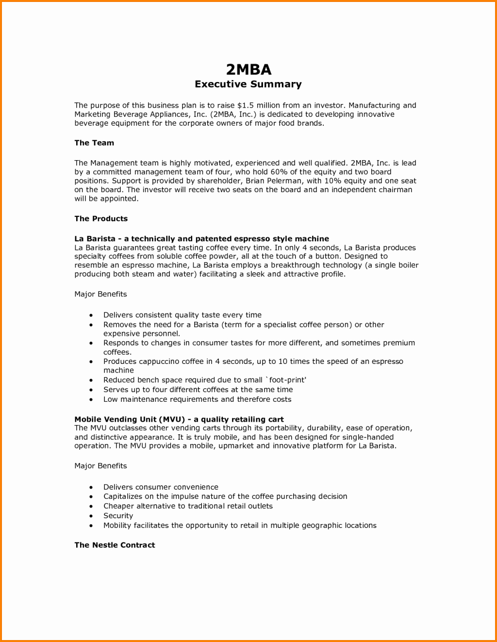 Format for An Executive Summary Beautiful Executive Summary Memo format Wedding Spreadsheet Example