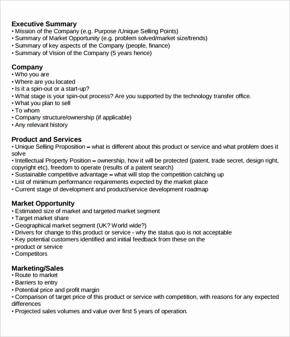 Format for An Executive Summary Unique 31 Executive Summary Templates Free Sample Example