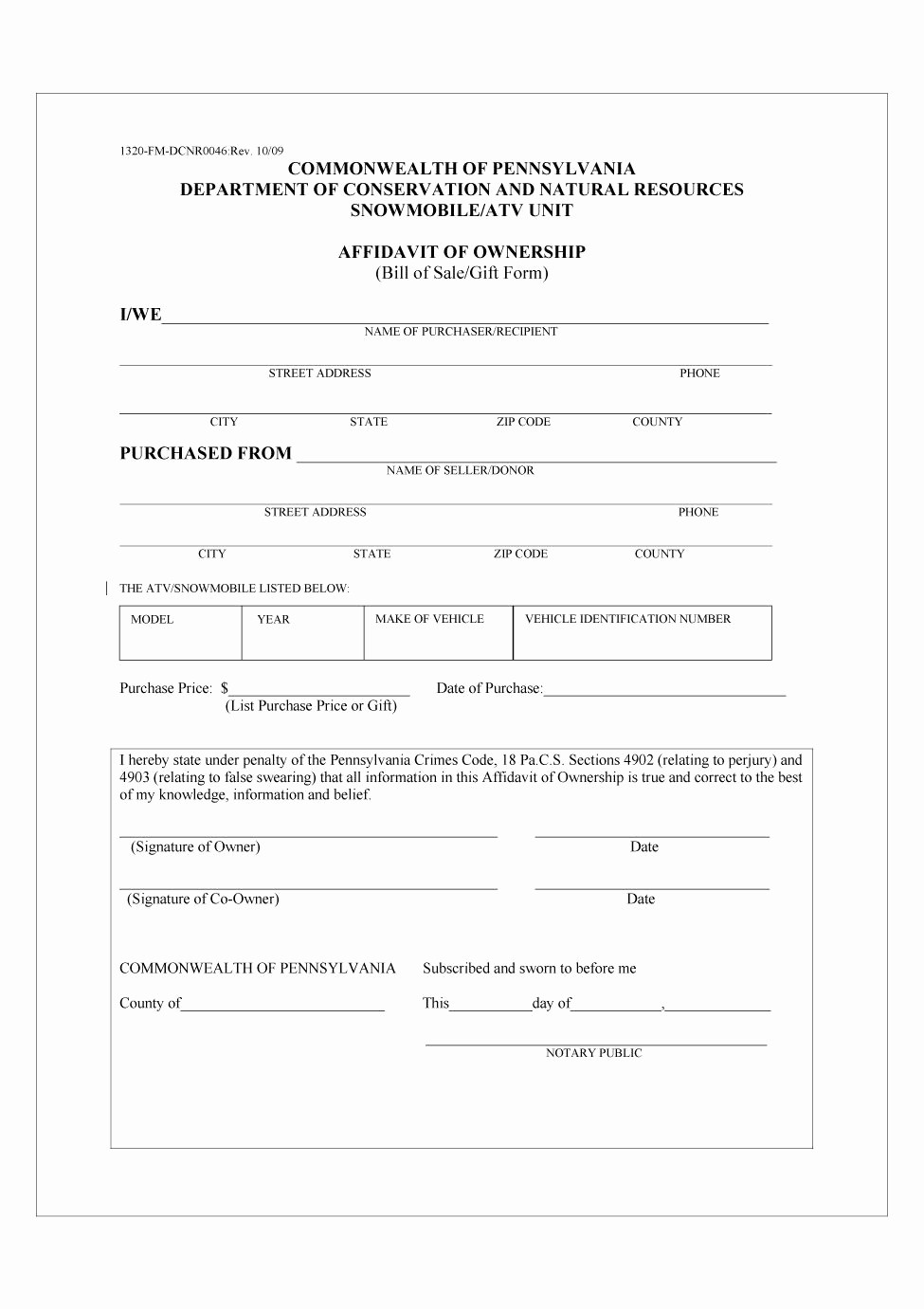 Format for Bill Of Sale New 46 Fee Printable Bill Of Sale Templates Car Boat Gun