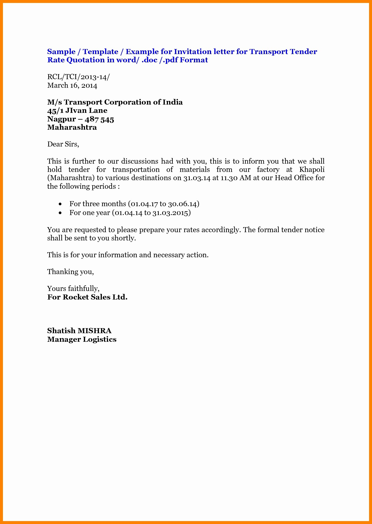 Format for formal Business Letter Awesome Mla Business Letter format Template