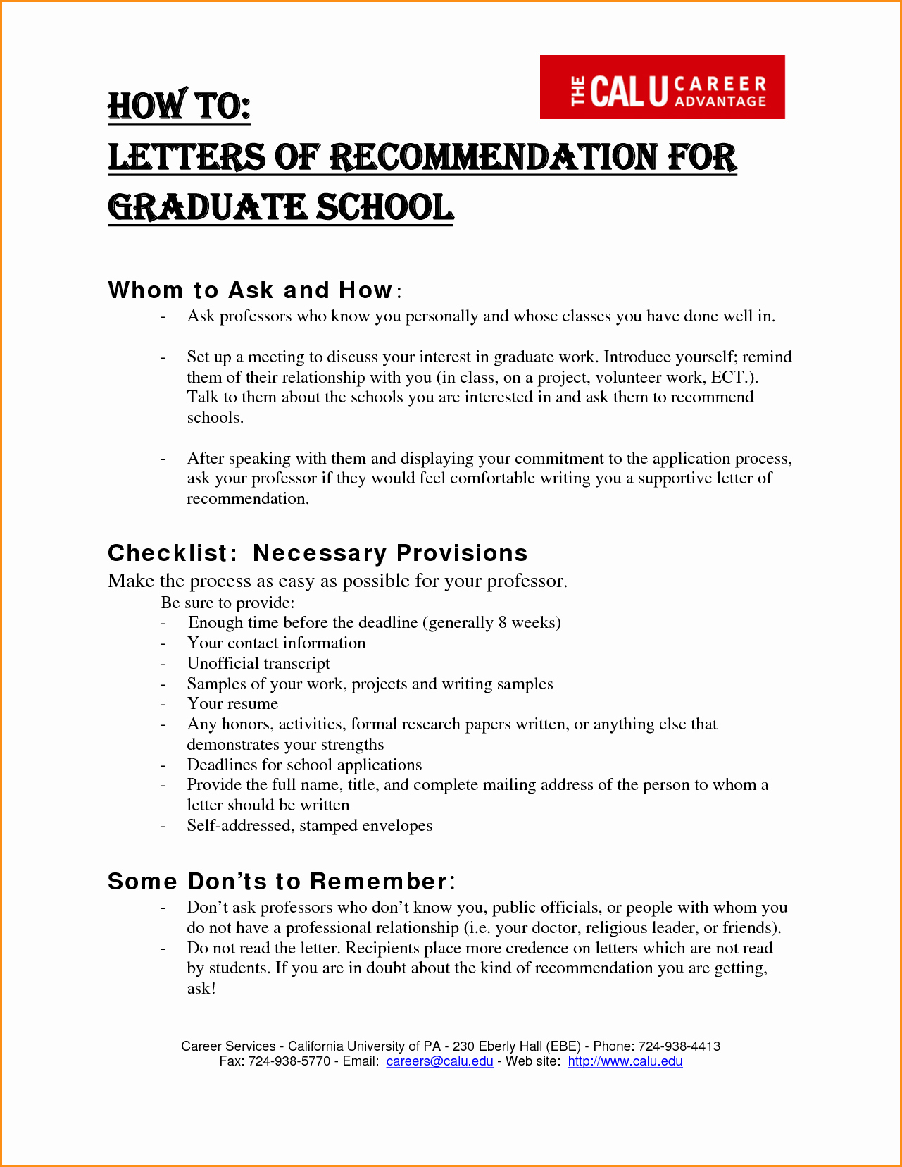 Format for Letters Of Recommendation Lovely 13 Grad School Re Mendation Letter format