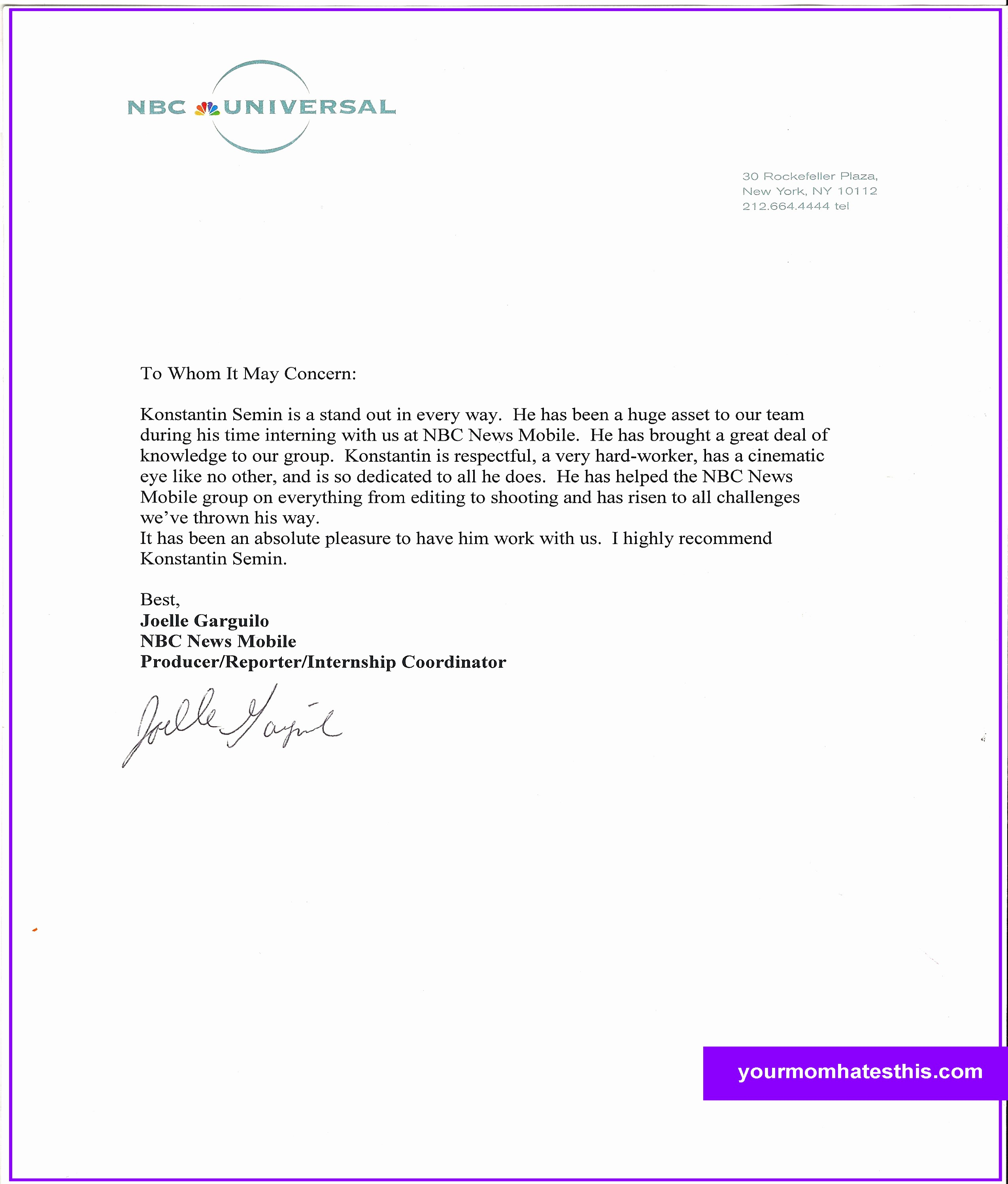 Format for Letters Of Recommendation Lovely Letter Of Re Mendation format