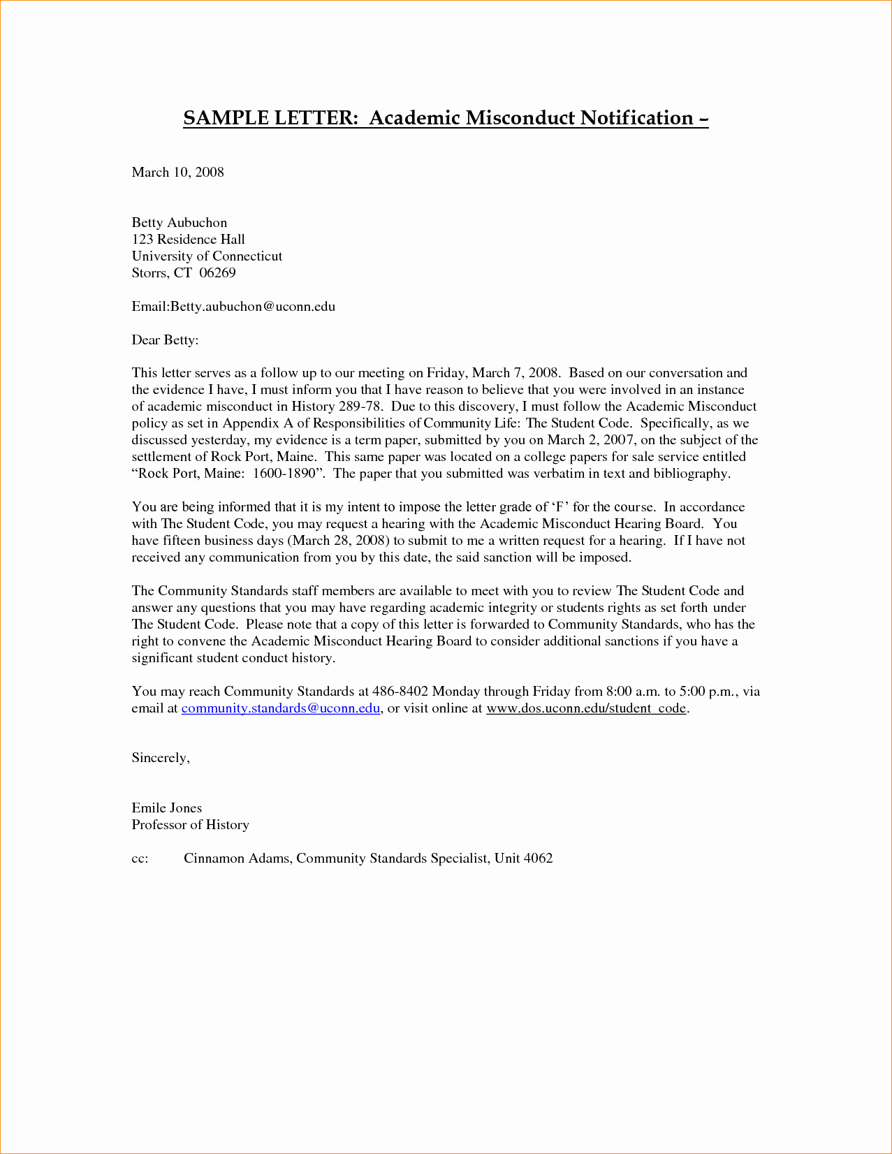 Format for Letters Of Recommendation Unique Academic Reference Letter format Business Proposal