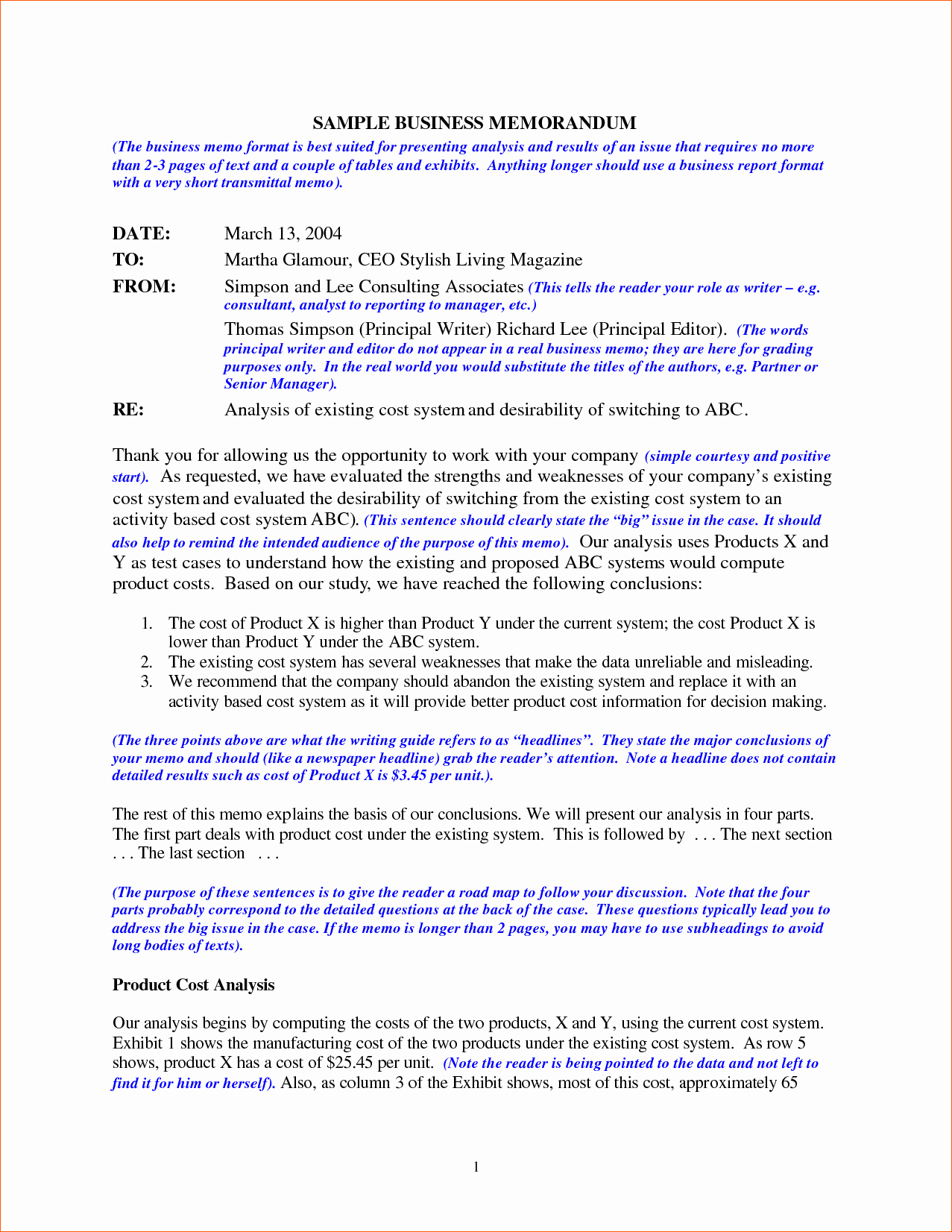 Format Of A Business Memorandum Awesome 6 Business Memo Sample