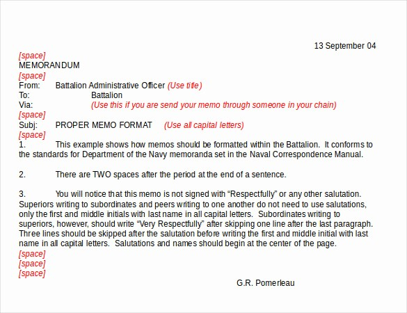 Format Of A Business Memorandum Elegant 21 Business Memo Templates – Pdf Doc