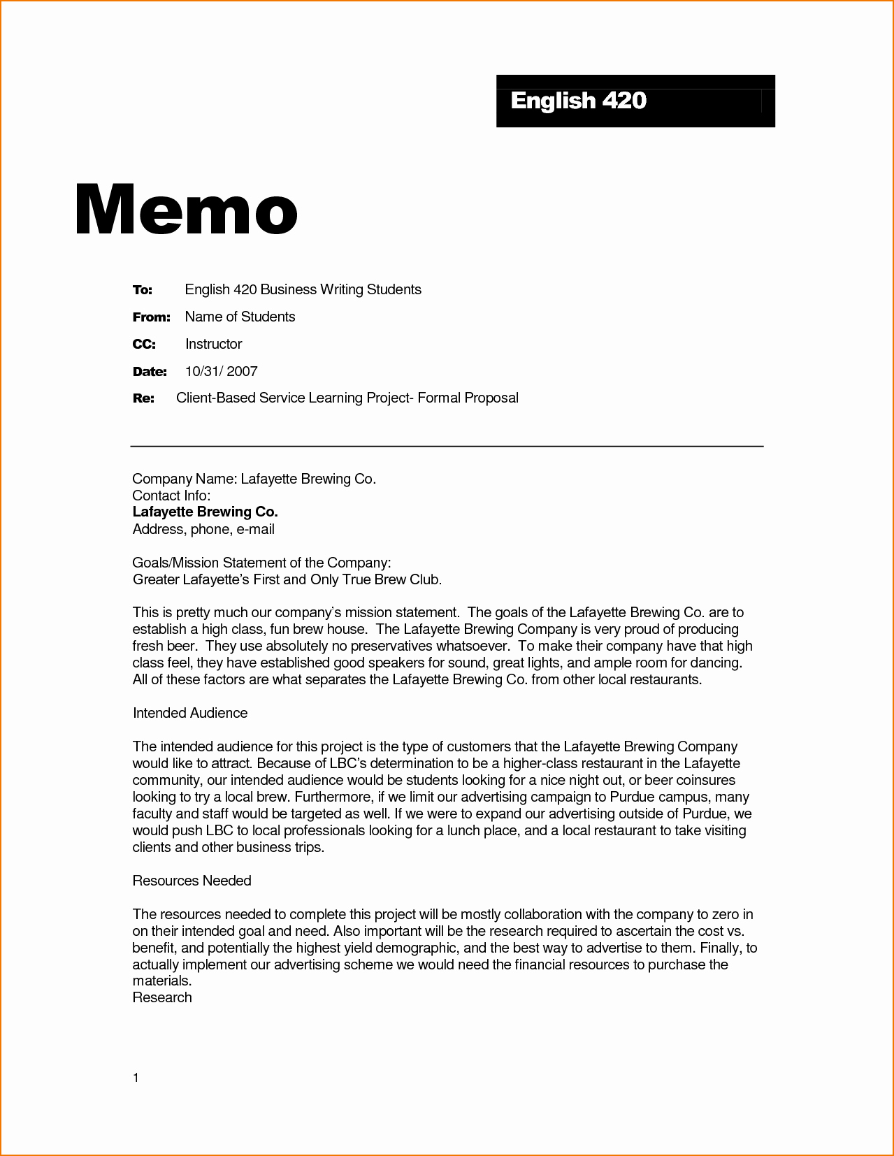 Format Of A Business Memorandum Lovely How is A Business Memo format Written