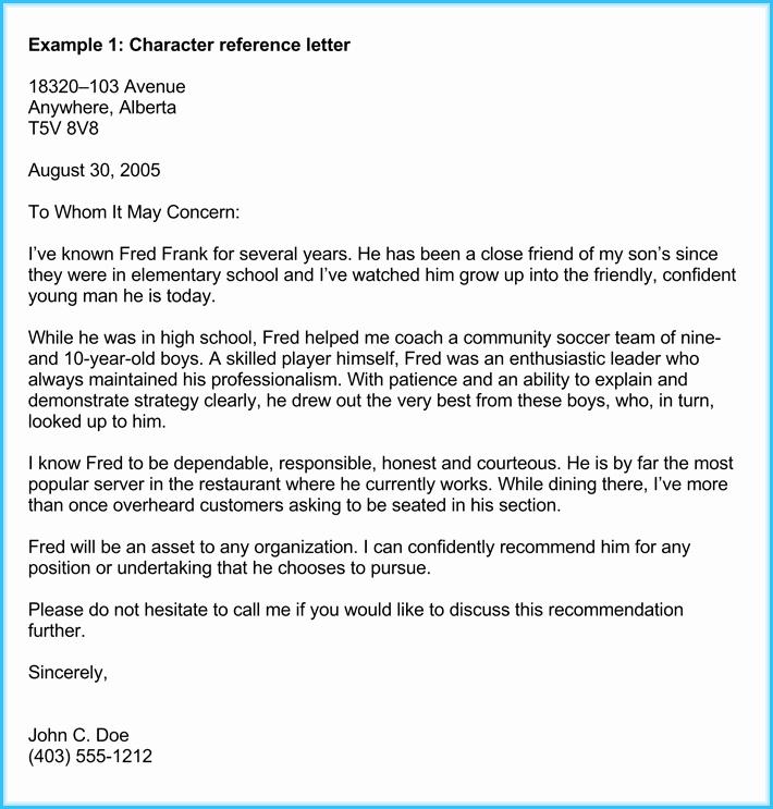 Format Of A Recomendation Letter Elegant Business Re Mendation Letter 10 Samples formats