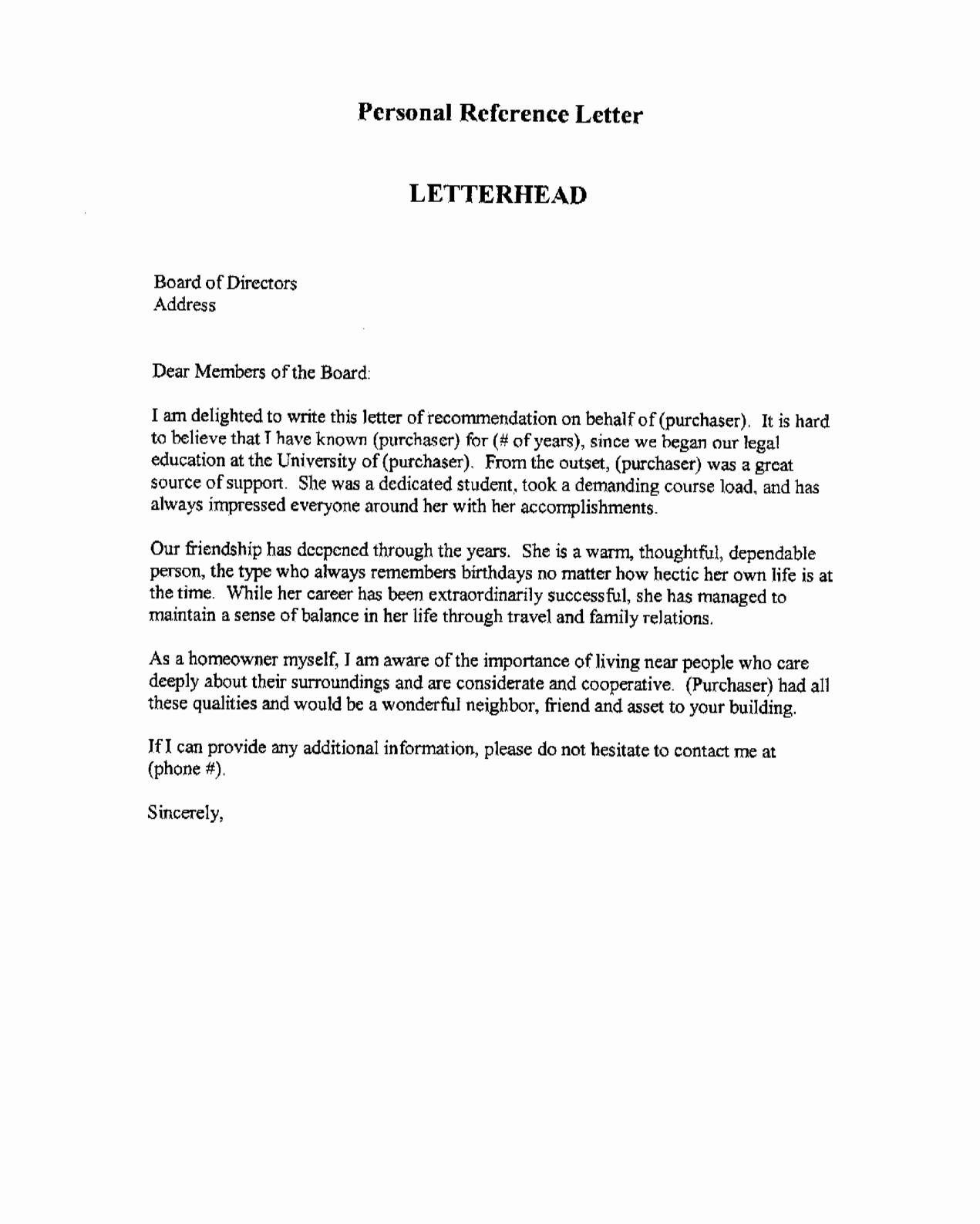 Format Of A Recommendation Letter Elegant Professional Re Mendation Letter This is An Example Of