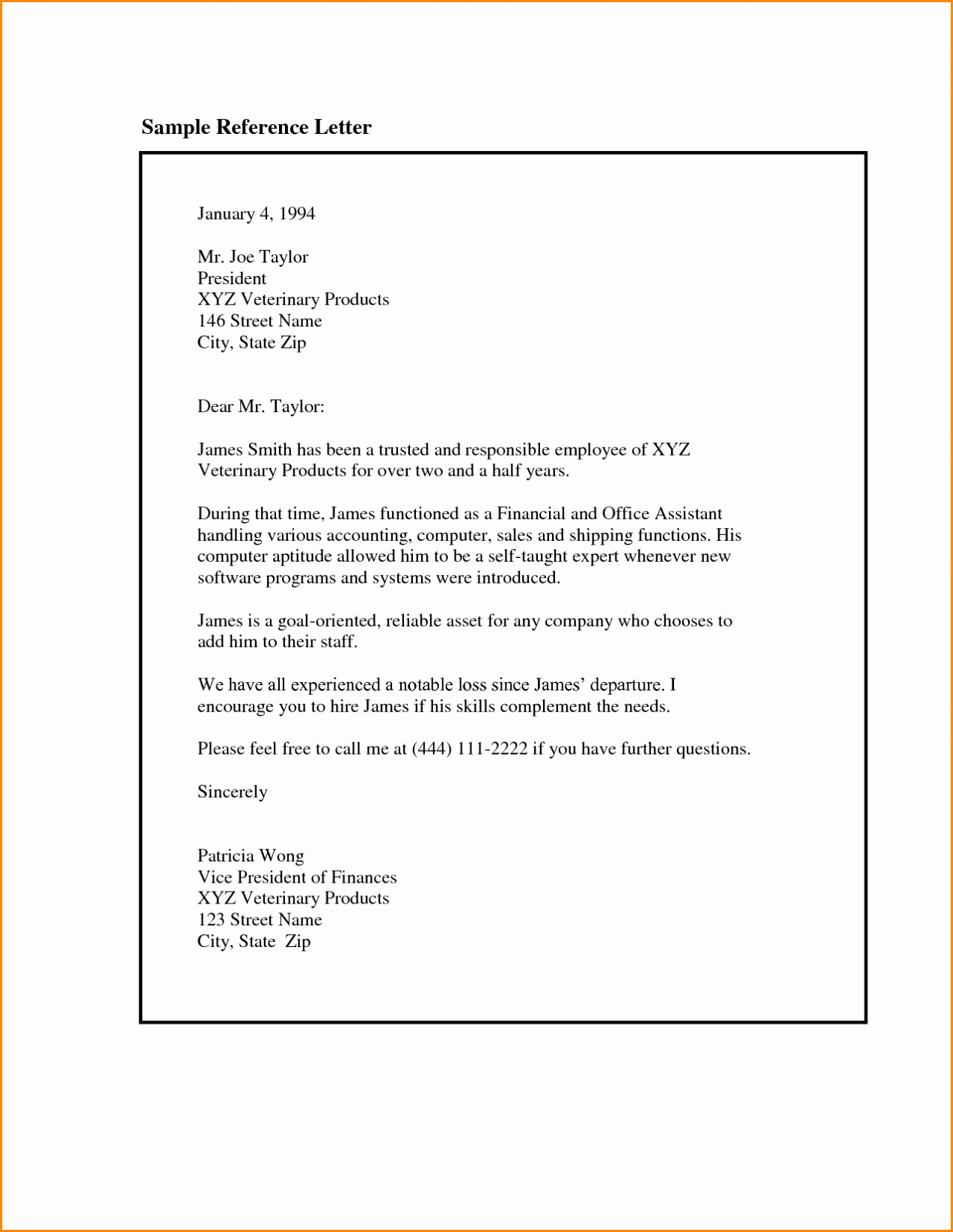 Format Of A Recommendation Letter Luxury Reference Letter format Template Sample