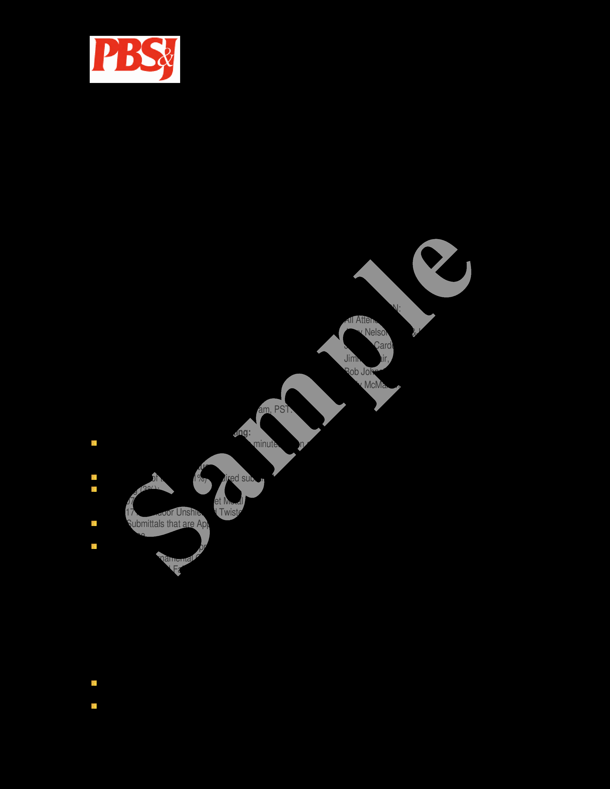 Format Of Minutes Of Meetings Elegant Free Progress Meeting Minutes Sample