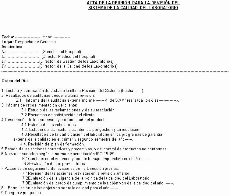 Formato Acta Reunion De Trabajo Elegant 15 2 Ejemplo De La Primera Página De Un Acta De La