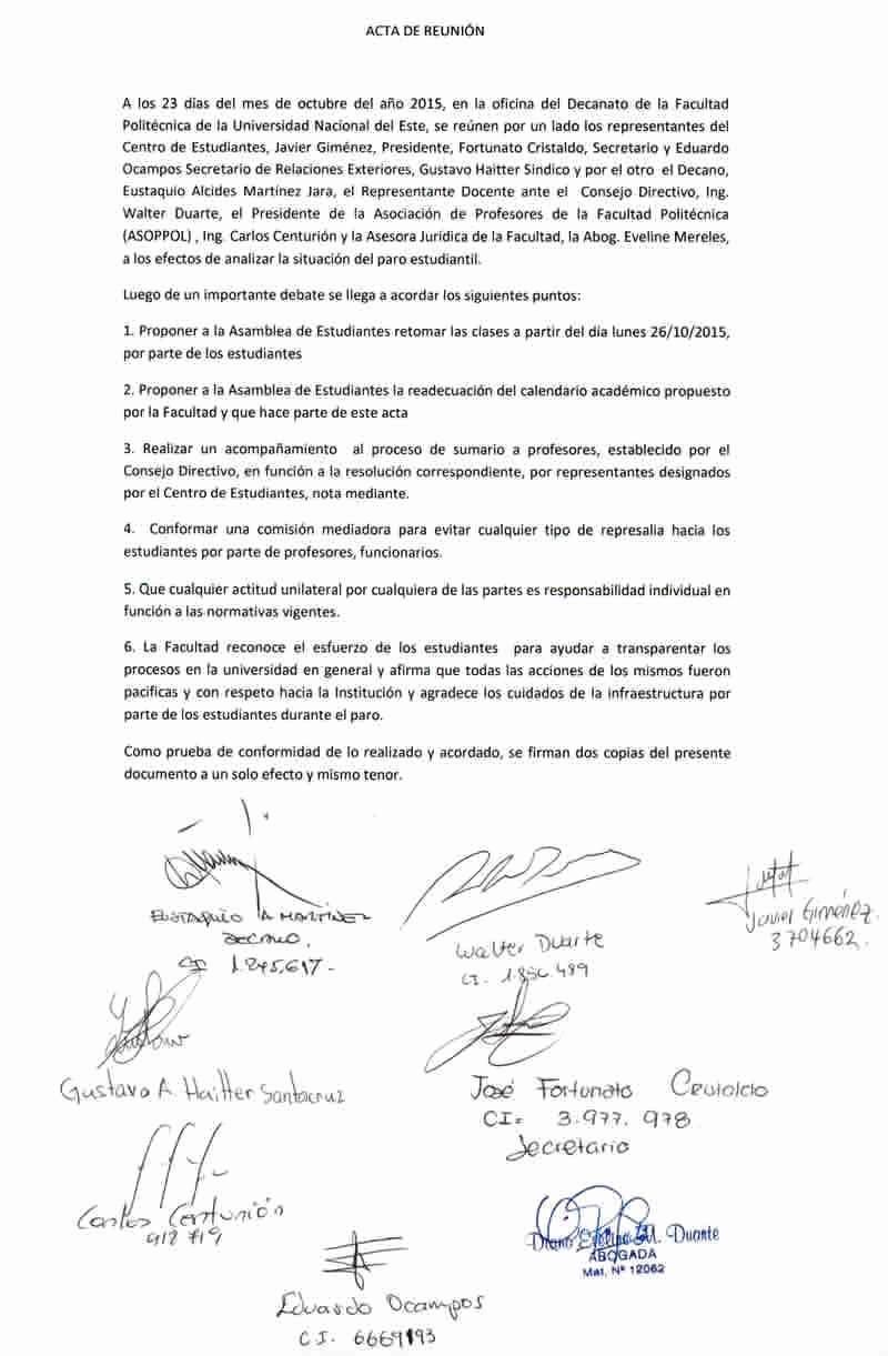 Formato Acta Reunion De Trabajo Luxury Fpune Acta De Reunión