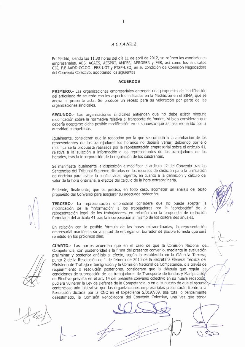 Formato Acta Reunion De Trabajo New Los Puntos Que Hemos Aportado Desde La Seccin Sindical De