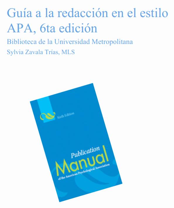 Formato Apa Sexta Edicion Descargar Awesome Manual De Estilo De Publicaciones Apa 6° Edición Descarga