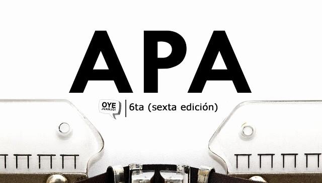 Formato Apa Sexta Edicion Descargar Awesome normas Apa 2018 Ta Edición Descargar Pdf