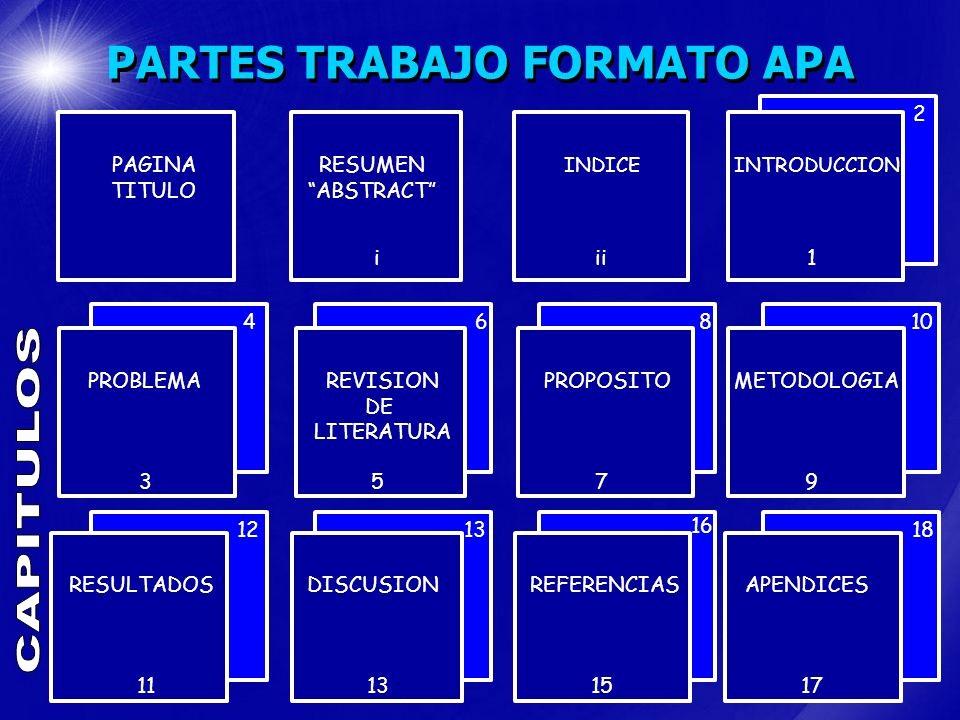 Formato Apa Sexta Edicion Descargar Inspirational formato Para Trabajos Escritos Estilo Apa En EspaÑol Ppt