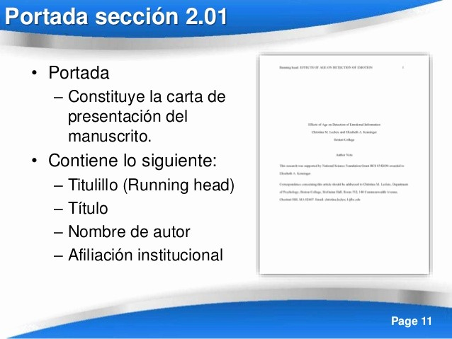 Formato Apa Sexta Edicion Descargar Luxury formato Apa En Espanol