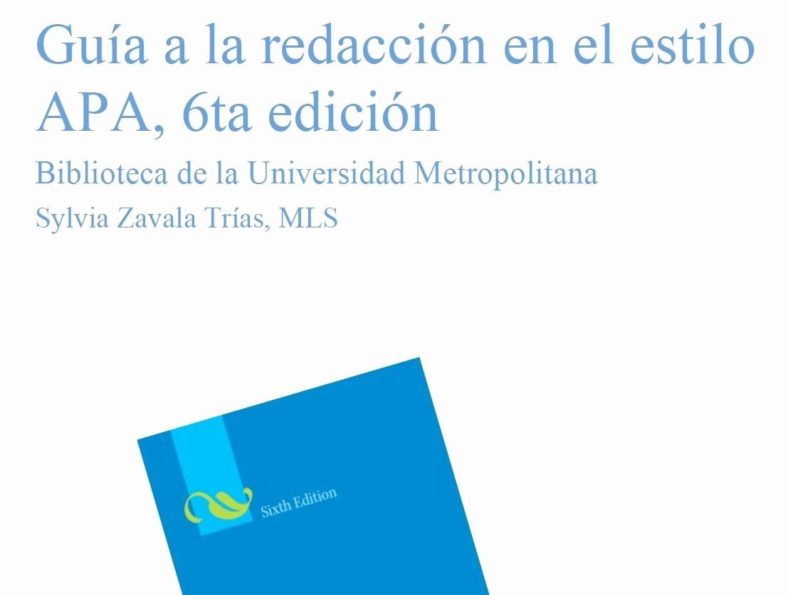 Formato Apa Sexta Edicion Descargar Luxury Gua Resumen Apa 6ta Ed – Banco Estudiantil