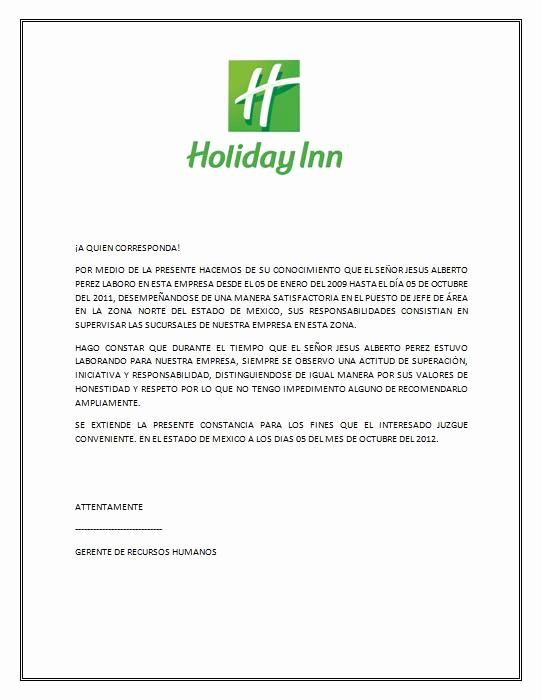 Formato Carta De Recomendacion Personal Luxury Profesionalmente Carta De Re Endación