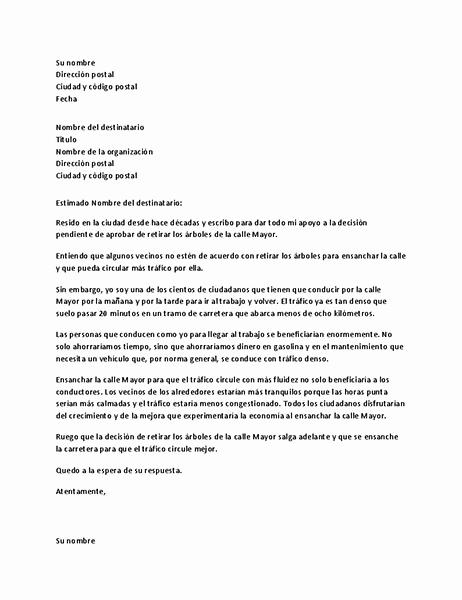 Formato Cotizacion De Servicios Profesionales Lovely Carta De Apoyo A Una Autoridad Local