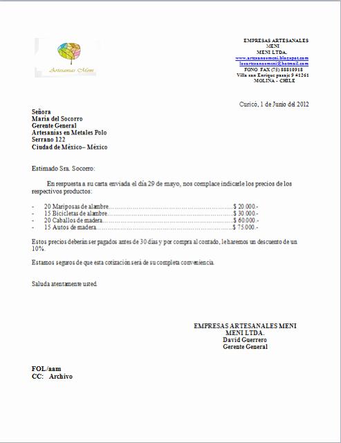 Formato Cotizacion De Servicios Profesionales Lovely Consulta 2