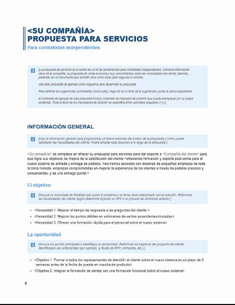 Formato Cotizacion De Servicios Profesionales Unique Propuesta De Servicios