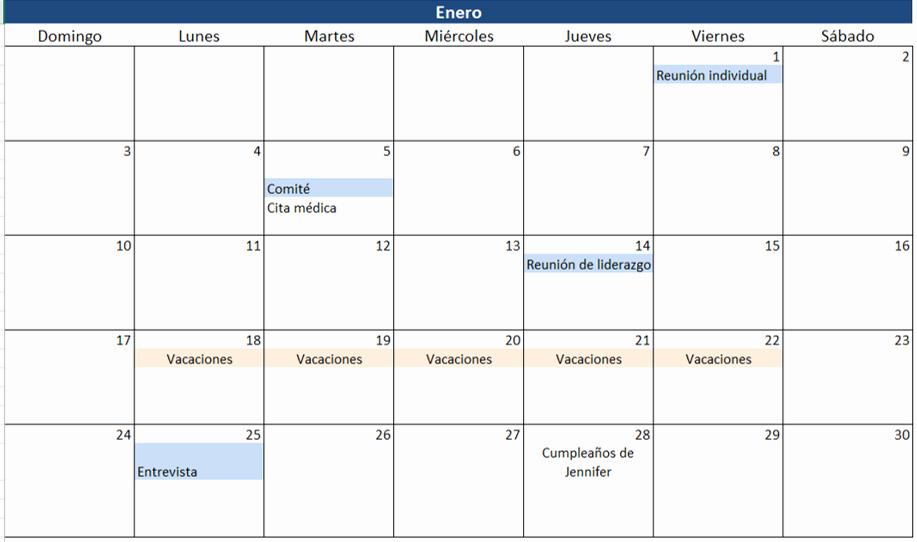 Formato Cronograma De Actividades Excel Fresh Cree Un Calendario 2016 En Excel Incluye Plantilla Gratis