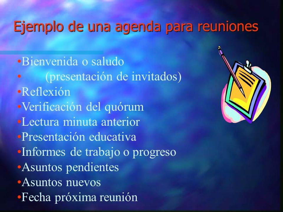 Formato De Agenda De Reuniones New Ejemplo Minutas De Reuniones