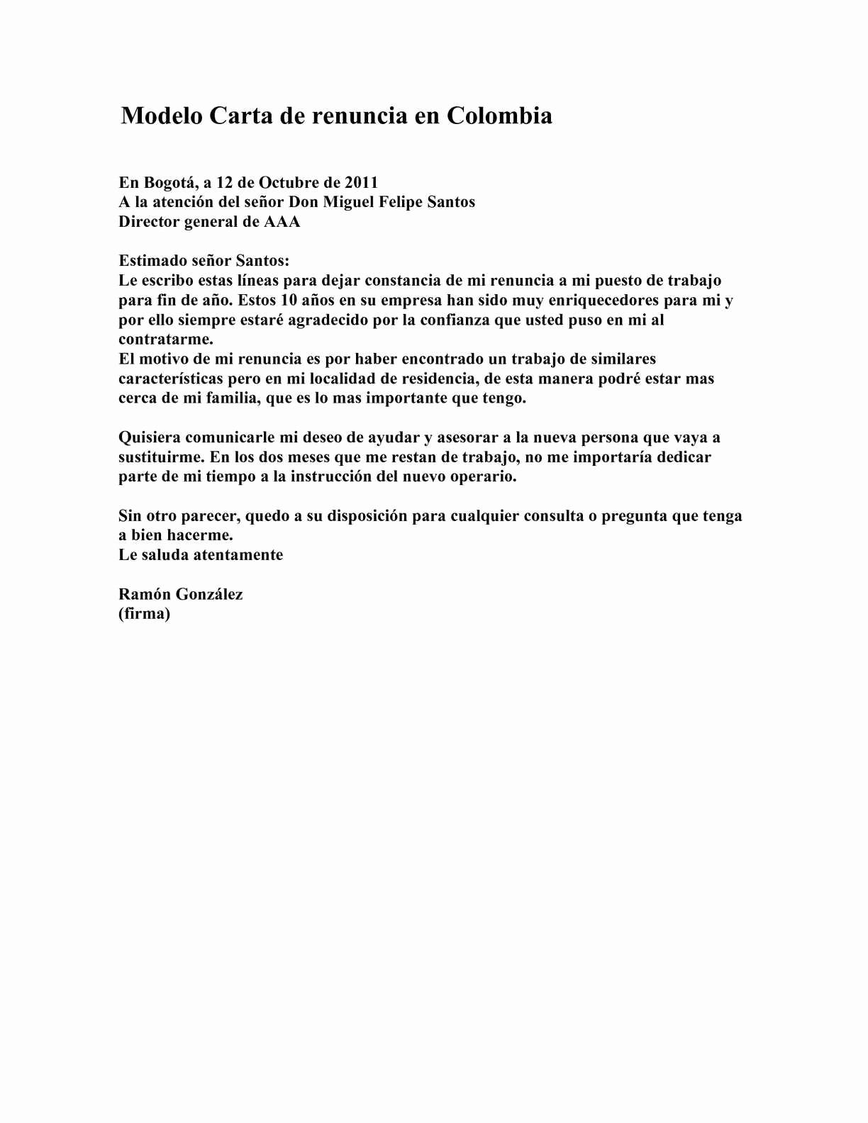 Formato De Carta De Renuncia Luxury Calaméo Modelo Carta De Renuncia En Colombia