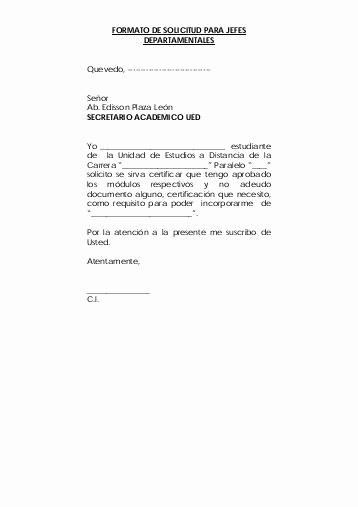 Formato De Carta De solicitud Beautiful formato De Carta De solicitud formatos De Cotratos formato
