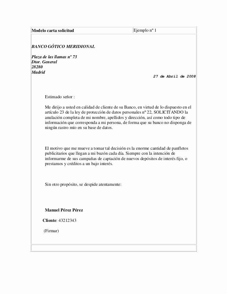 Formato De Carta De solicitud Elegant Carta solicitud