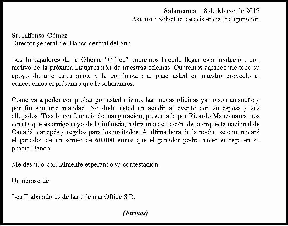 Formato De Carta De solicitud Elegant formato De Carta formal – formato Carta