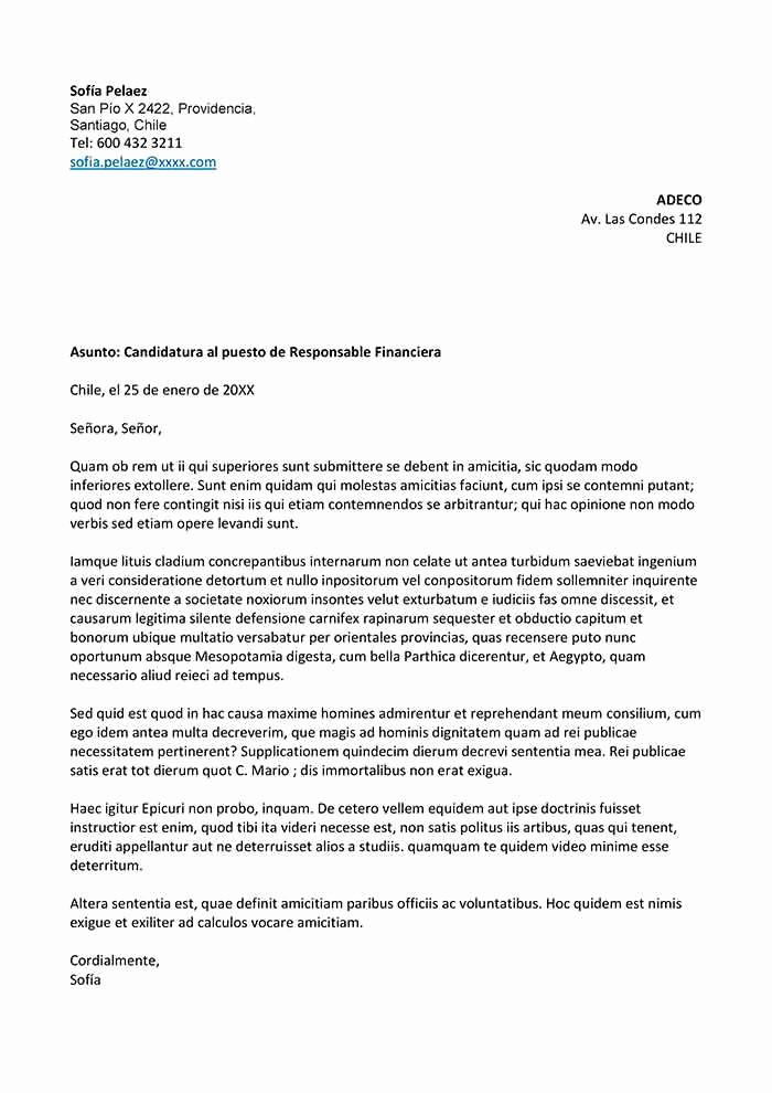 Formato De Carta De solicitud Elegant Plantilla De Carta De solicitud De Empleo