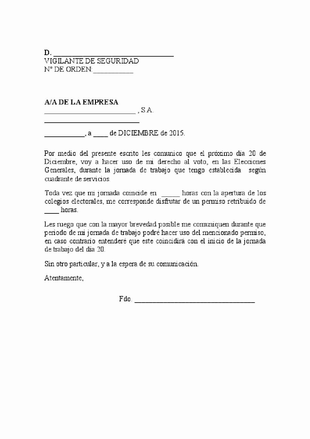 Formato De Carta De solicitud Inspirational formato De solicitud De Permiso