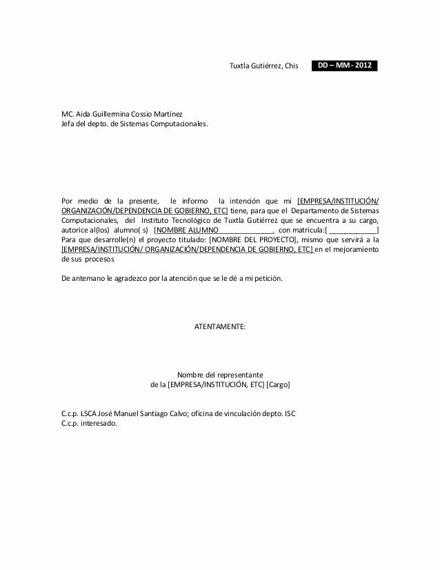 Formato De Carta De solicitud Luxury formato Para solicitud De Residentes Empresa