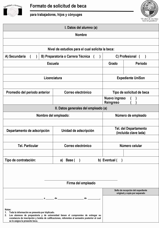 Formato De Carta De solicitud Luxury formatos De solicitudes formato Para solicitud De Becas