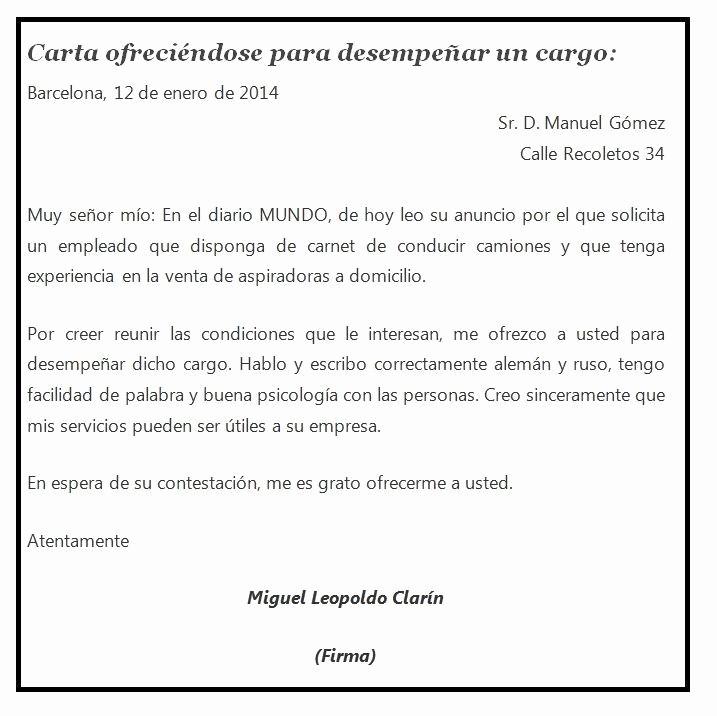 Formato De Carta De solicitud Unique formato solicitud De Empleo