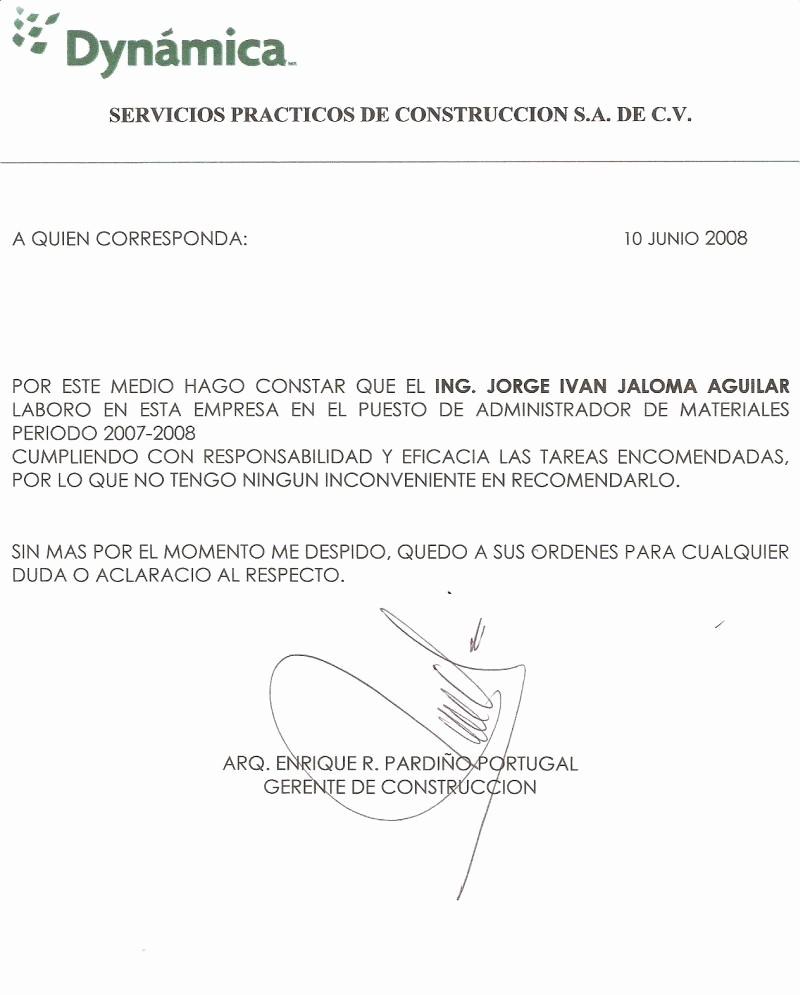 Formato De Carta Recomendacion Laboral New Carta De Re Endacion Laboral