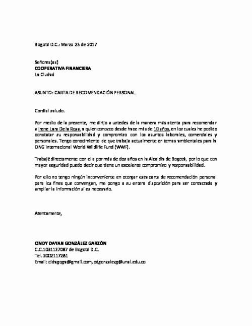 Formato De Carta Recomendacion Laboral New Cmo Crear Una Carta De Re Endacin En Word formato Carta