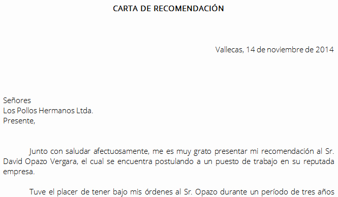 Formato De Carta Recomendacion Personal New Word Descarga formato Carta De Re Endación Laboral