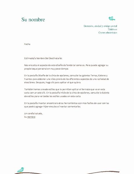 Formato De Carta Recomendacion Personal Unique Membrete Personal